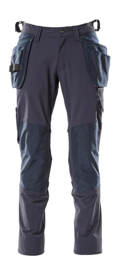 Mascot bikses ar ceļgalu sargu kabatām un papildus kabatām