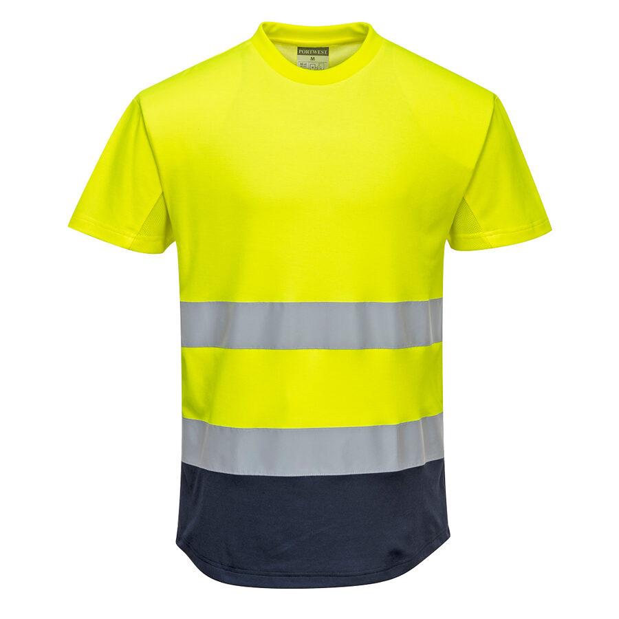 Portwest C395 divtoņu Hi-vis krekls