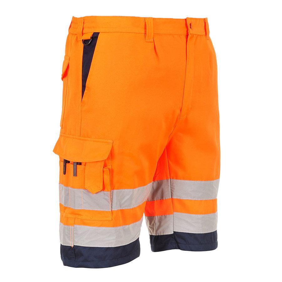 Portwest E043 - Hi-Vis poli kokvilnas šorti