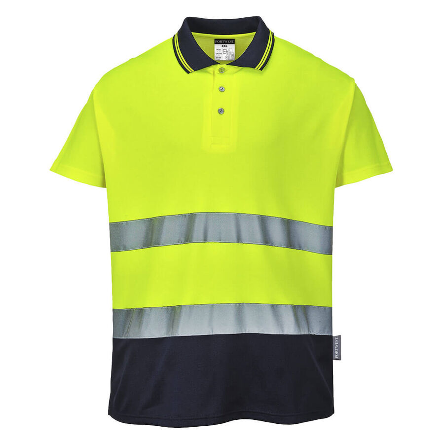 Portwest S174 Divu toņu Polo krekls