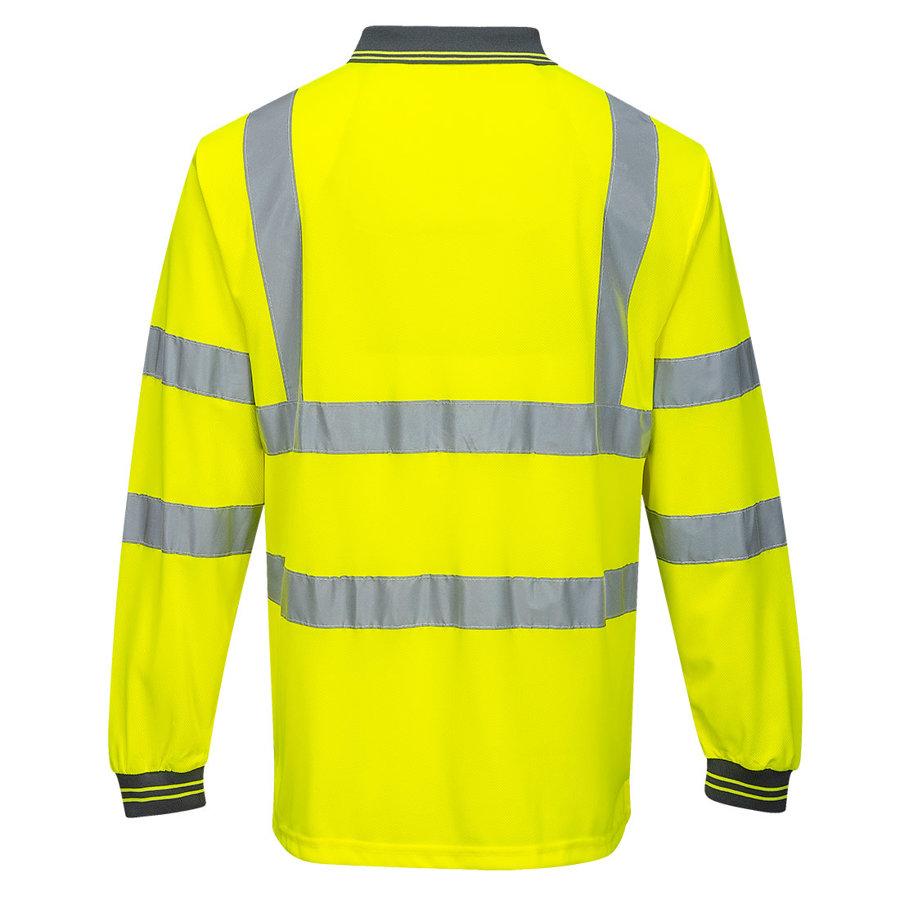 Portwest S277 - Hi-Vis polo krekls ar garām piedurknēm