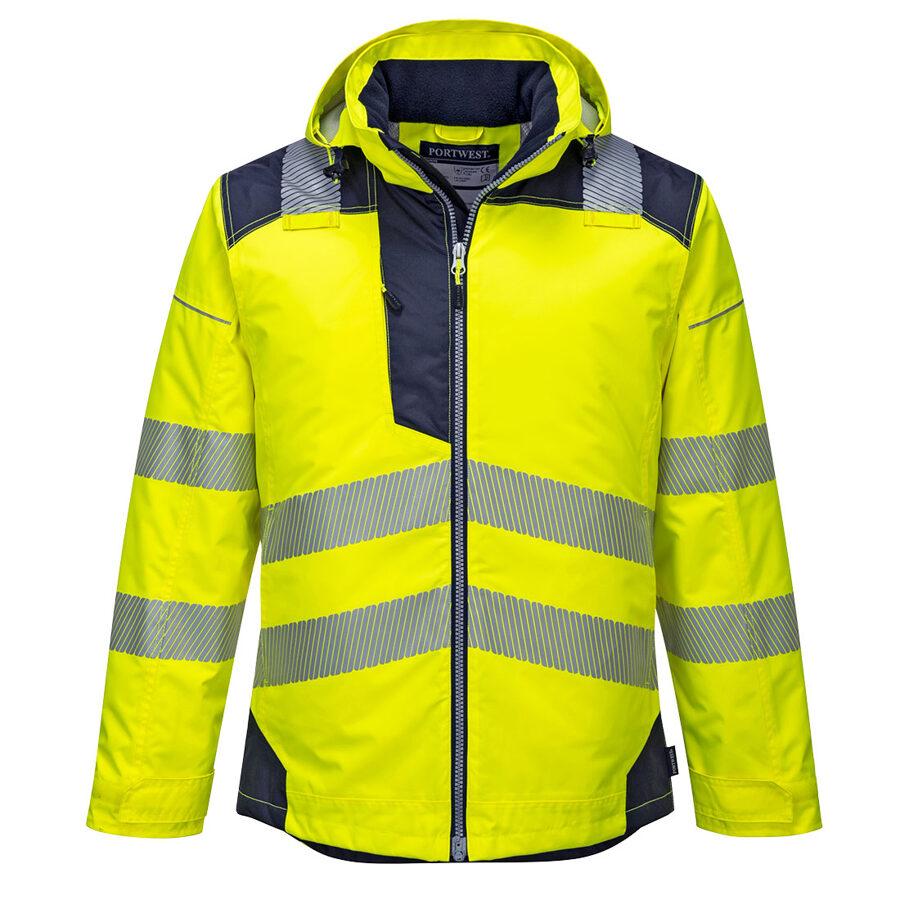 Portwest T400 - PW3 Ziemas augstas redzamības ziemas jakas