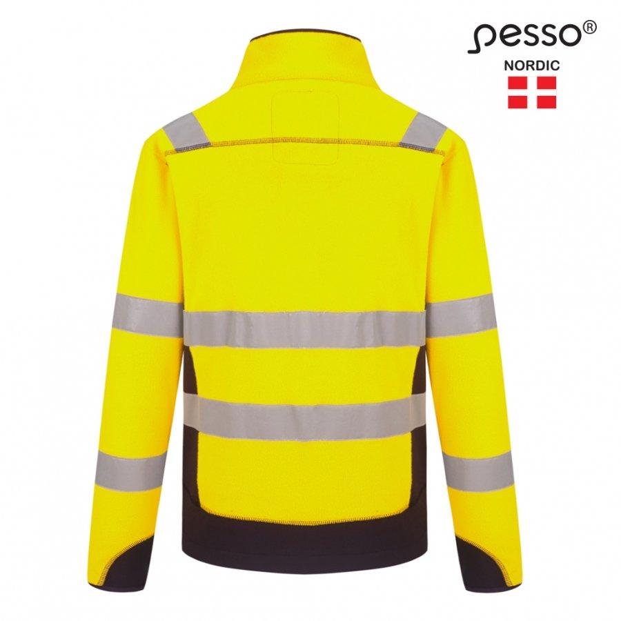 Silts džemperis HI-VIS vilnas Pesso FL01G