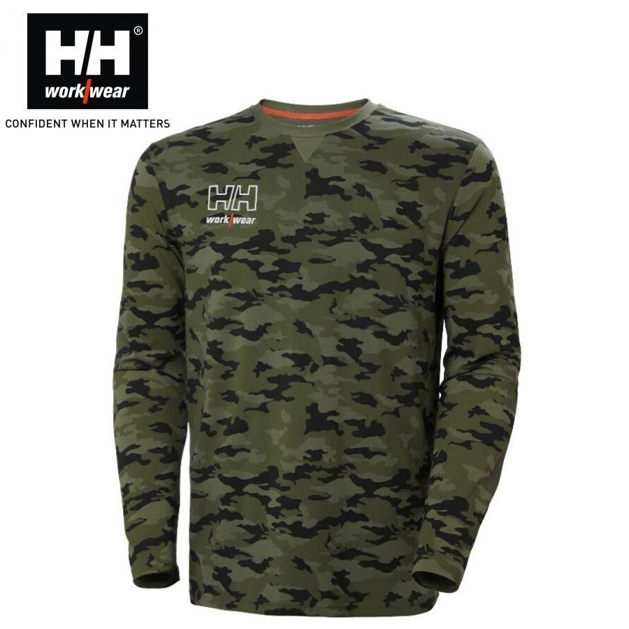 T-krekls ar garām piedurknēm Helly Hansen Kesington Camo