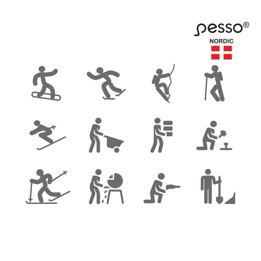 Merino vilnas balaclava Pesso
