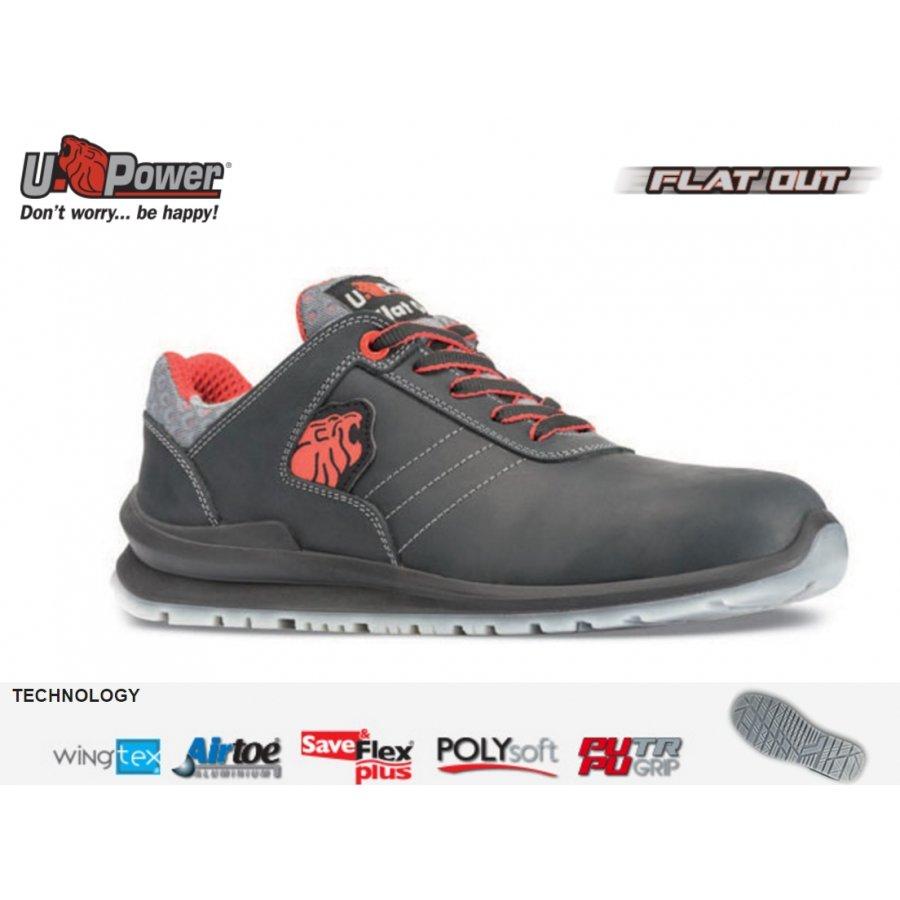 Drošības apavi BJORN S3 SRC U-Power Jaunākā kolekcija FLAT OUT