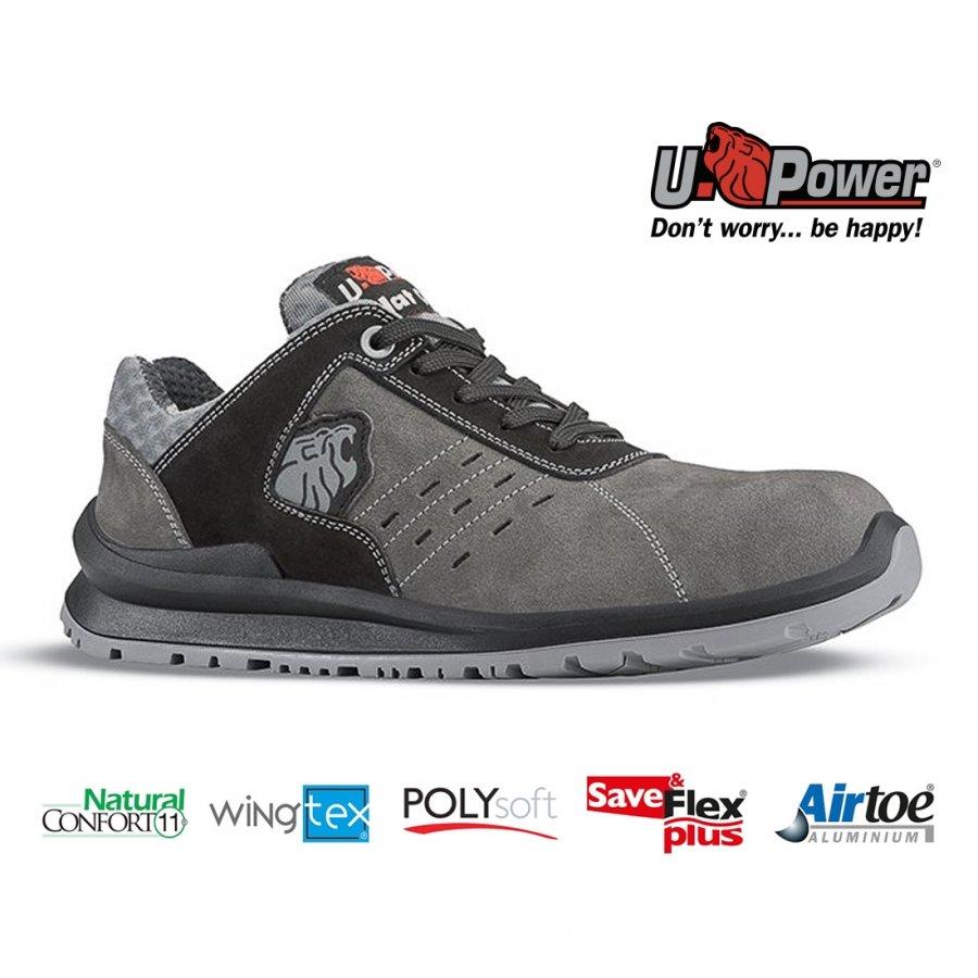 Drošības apavi CARLOS S1P SRC U-Power