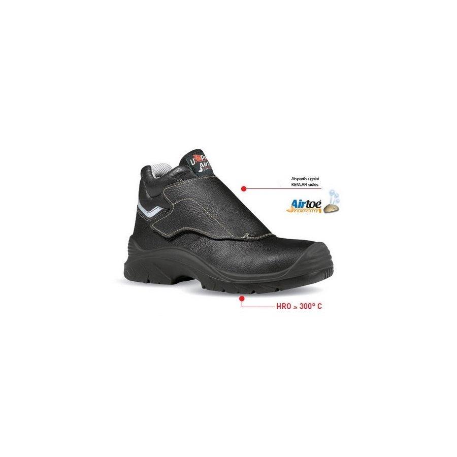 Drošības/karstumizturīgie apavi BULLS S3 HRO SRC U-Power