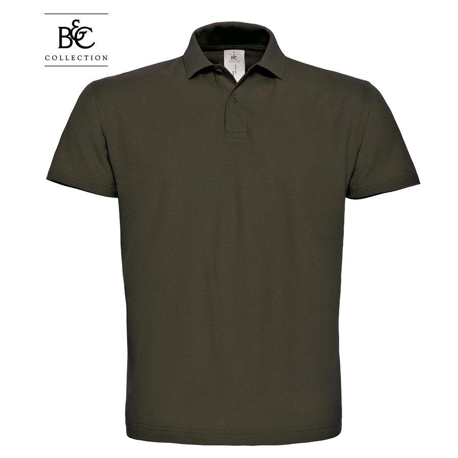 Polo krekls ar īsām piedurknēm B&C Collection ID.001