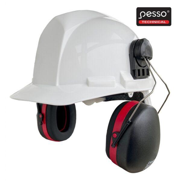Drošības ausu aizsargi Pesso A525 ir piestiprināmi pie ķiveres