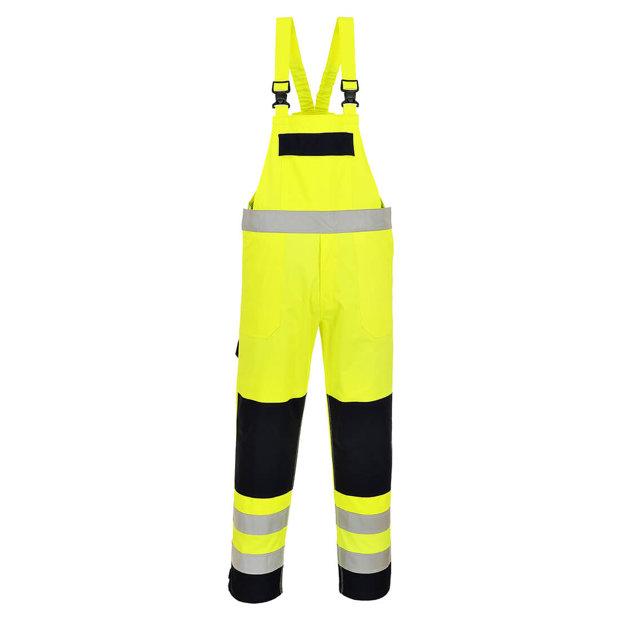Portwest augstas redzamības ugunsdrošs puskombinezons FR63