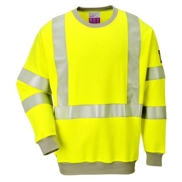 Portwest augstas redzamības un ugunsdrošs džemperis FR72