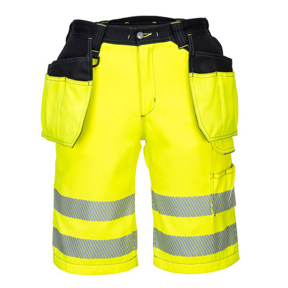 Portwest PW343 - PW3 Hi-Vis Holster Shorts