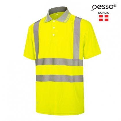 Augstas redzamības Polo krekls Pesso Florence