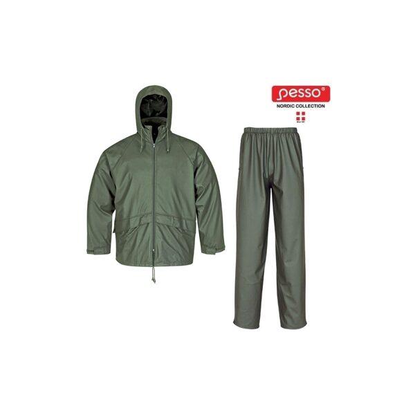 Lietus kostīms Pesso 801 + 802, zaļš