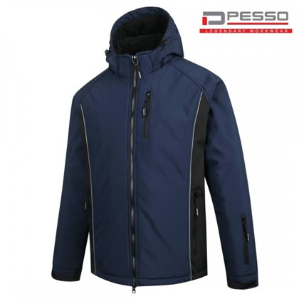 Softshell ziemas jaka Pesso OTAVA, tumši zila
