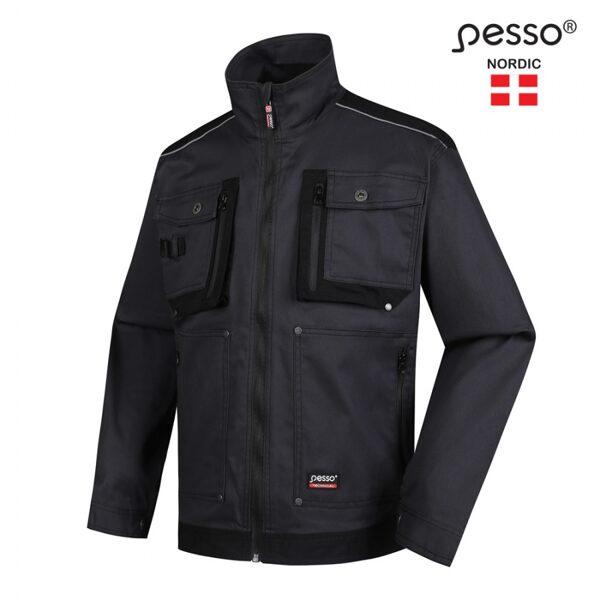 Darba apģērba jaka Pesso Stretch, pelēka