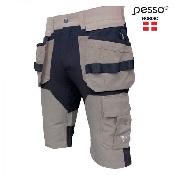 Darba šorti Pesso Titan Flexpro 125. gaiši brūni