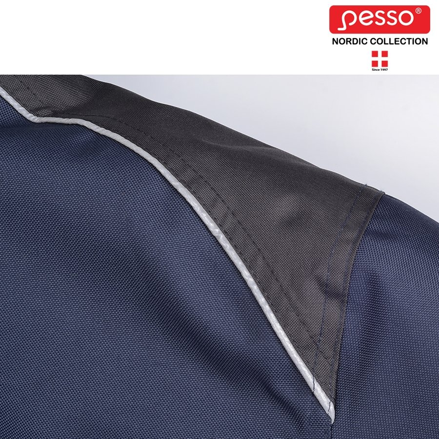 Ūdensizturīga ziemas jaka Pesso ARVIKA, zila / pelēka