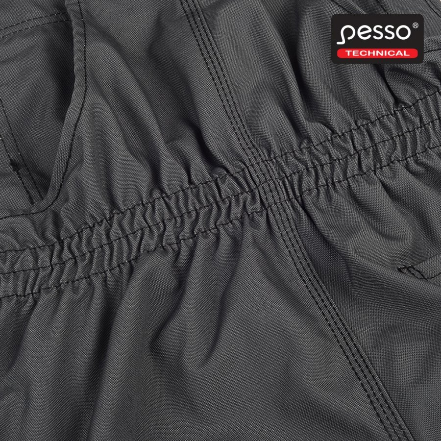 Darba apģērba Puskombinezons Pesso Canvas, pelēks