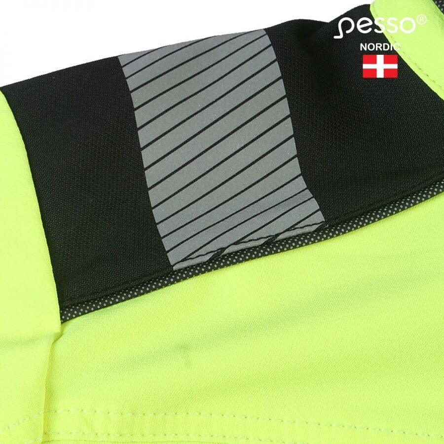 Darba apģērba jaka Pesso Titan 125, dzeltena | DS125G
