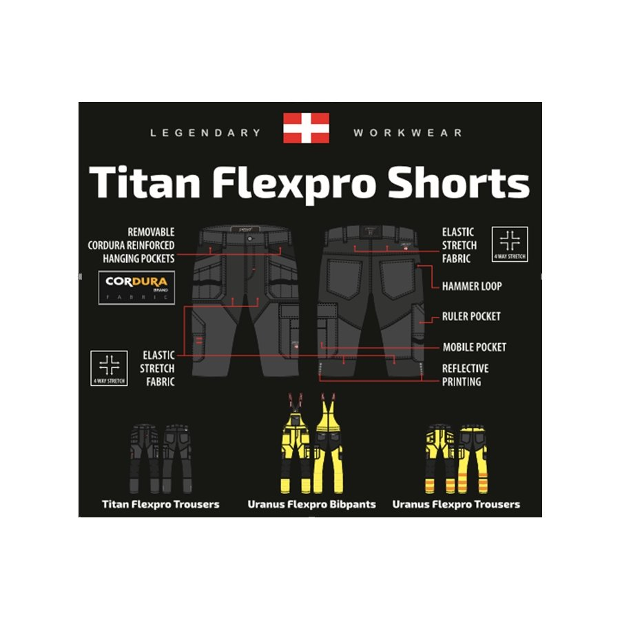 Darba šorti Pesso Titan Flexpro